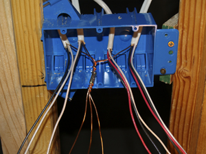 building eric s house part 3 rh dorothyainsworth com wiring 3 gang switch box how to wire a 3 light switch box